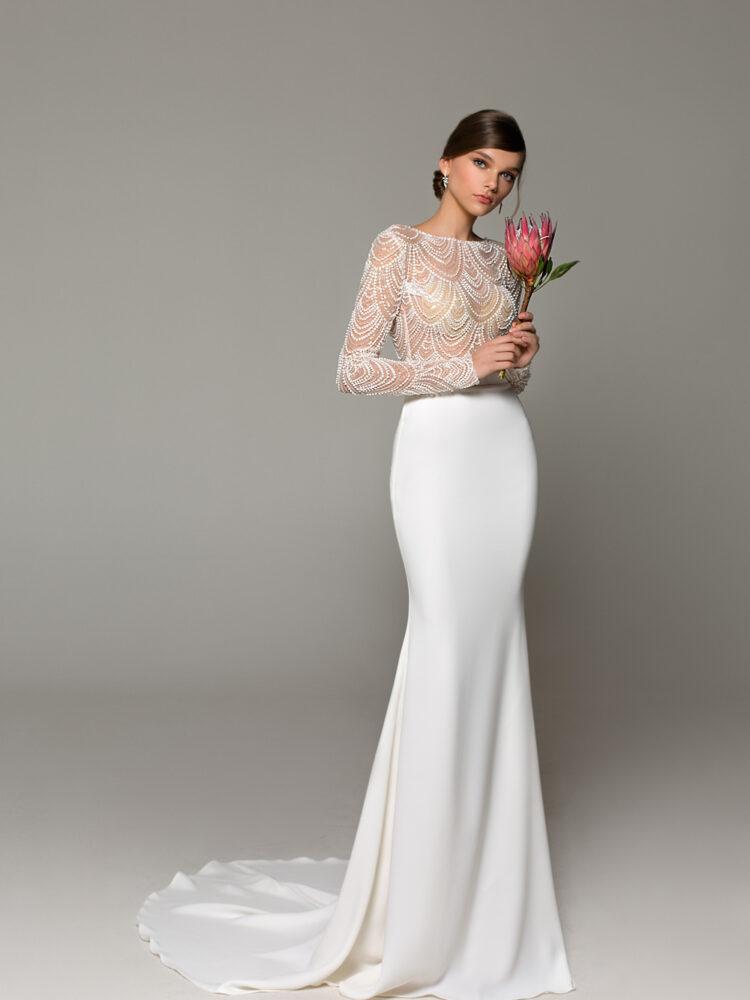wedding dress to buy belgium Eva lendel