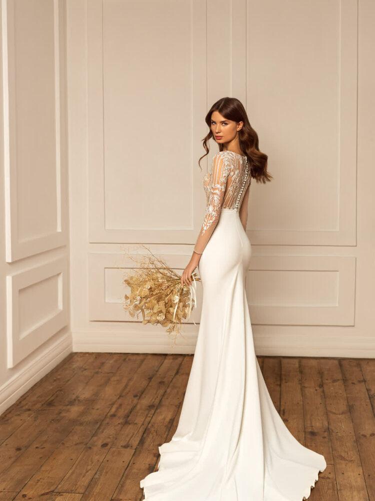Piper mermaid wedding dress